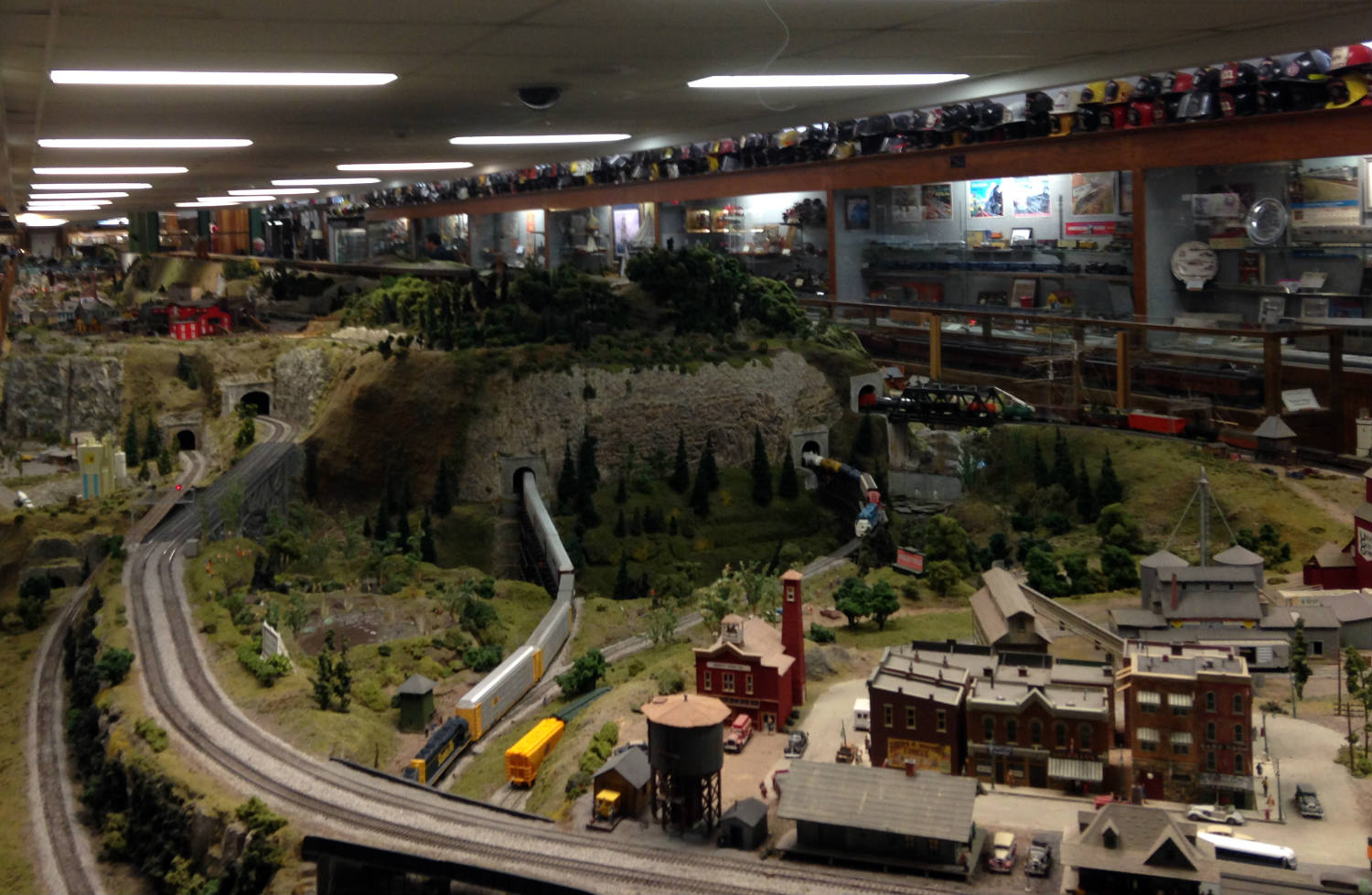 Model Railroad Setup Medina Railroad Museum