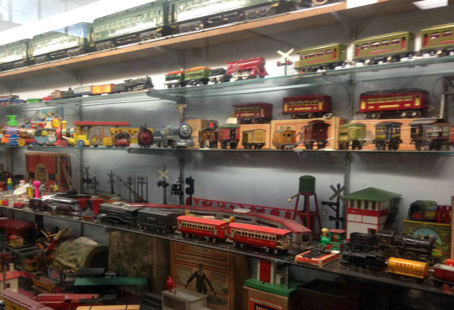 Train Collectibles at Medina Railroad Museum