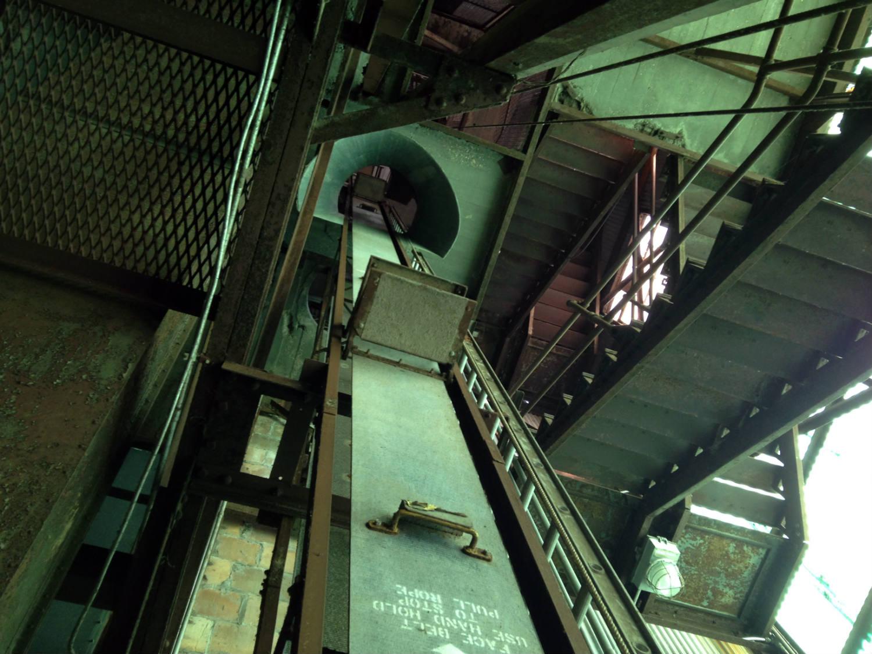 Grain Elevator in the American Silo in Buffalo, NY