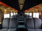 1947 Budd Coach Train Car - Medina Railroad Museum
