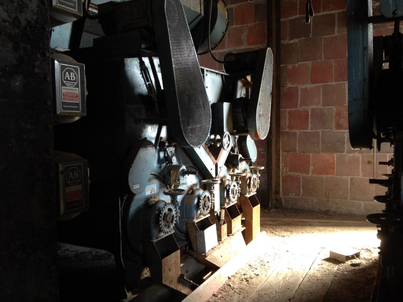 Machinery in the Perot Grain Silo; Buffalo, NY