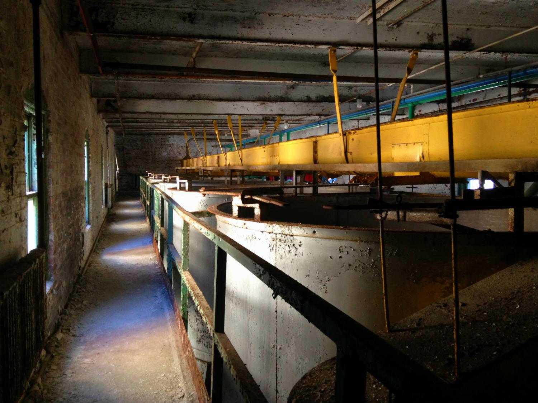 Grain Silos in the Perot Building; Silo City - Buffalo, NY
