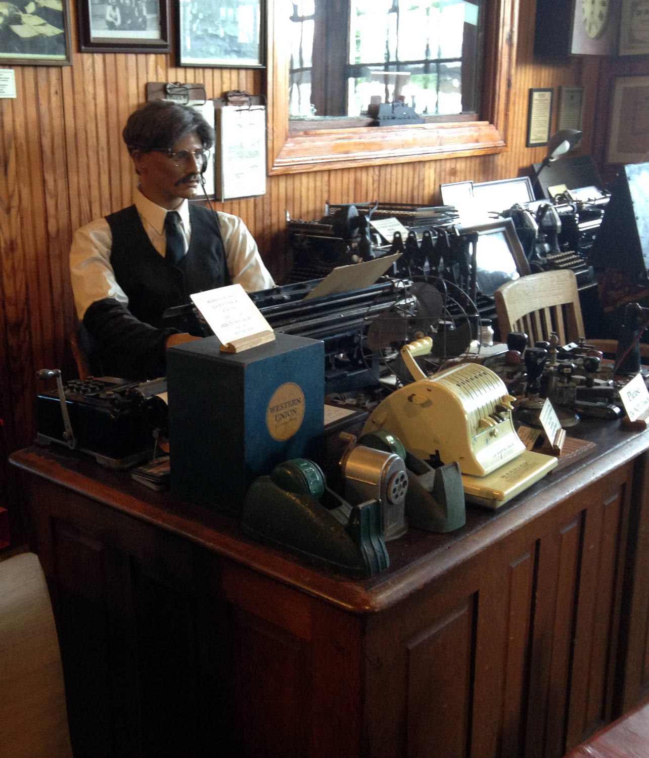 Collectibles at Medina Railroad Museum