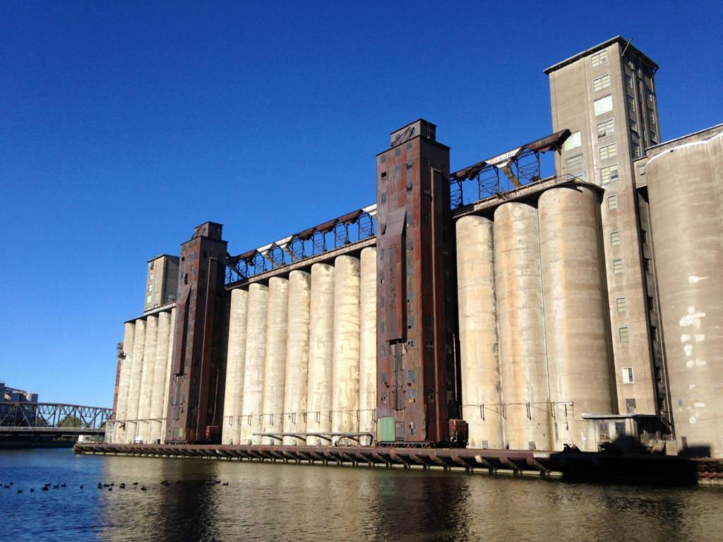 Silo City Grain Elevators in Buffalo, NY