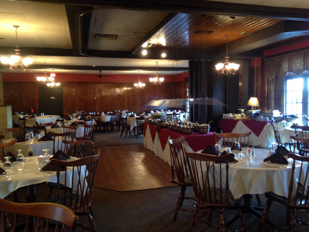 Dining Room of Abigail's Restaurant in Waterloo, NY