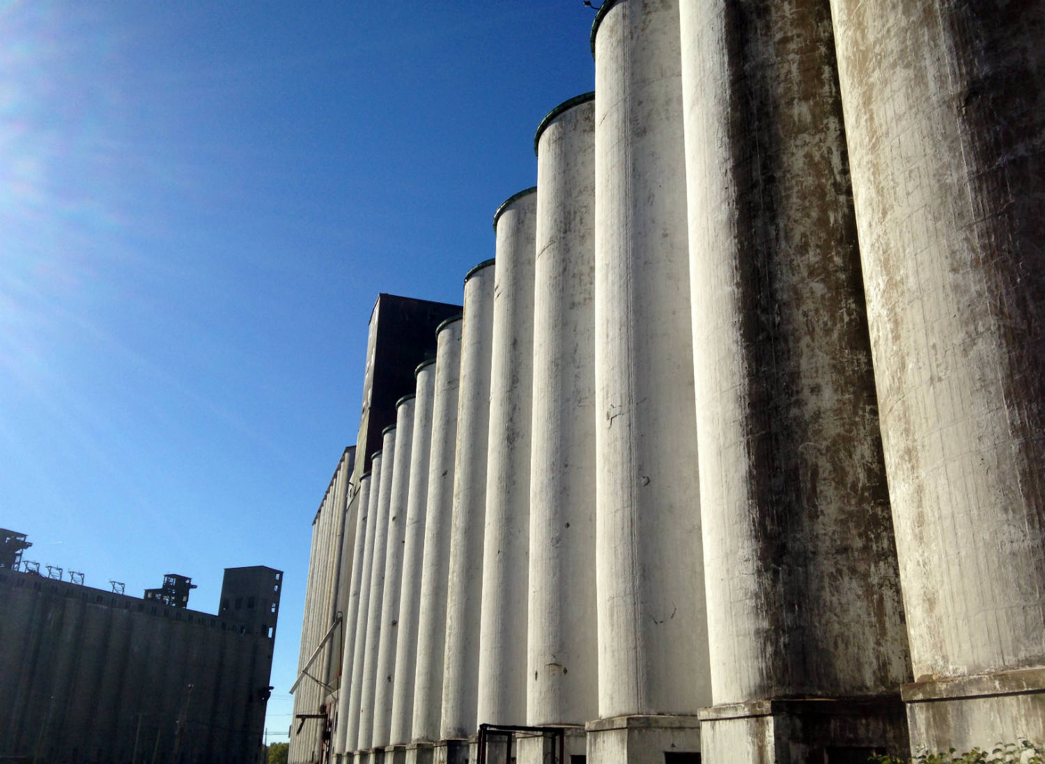 Silo City (American Malting Company Silo) in Buffalo, NY