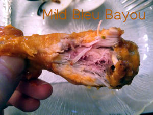 The Mild Bleu Bayou Chicken Wing at Abigail's Restaurant in Waterloo, NY