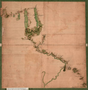 Sullivan-Clinton Campaign Map 1779