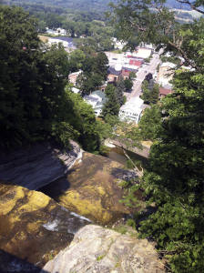 View From Atop Montour Falls facing eastward