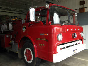 Willard Asylum DTC Antique Ford Fire Truck