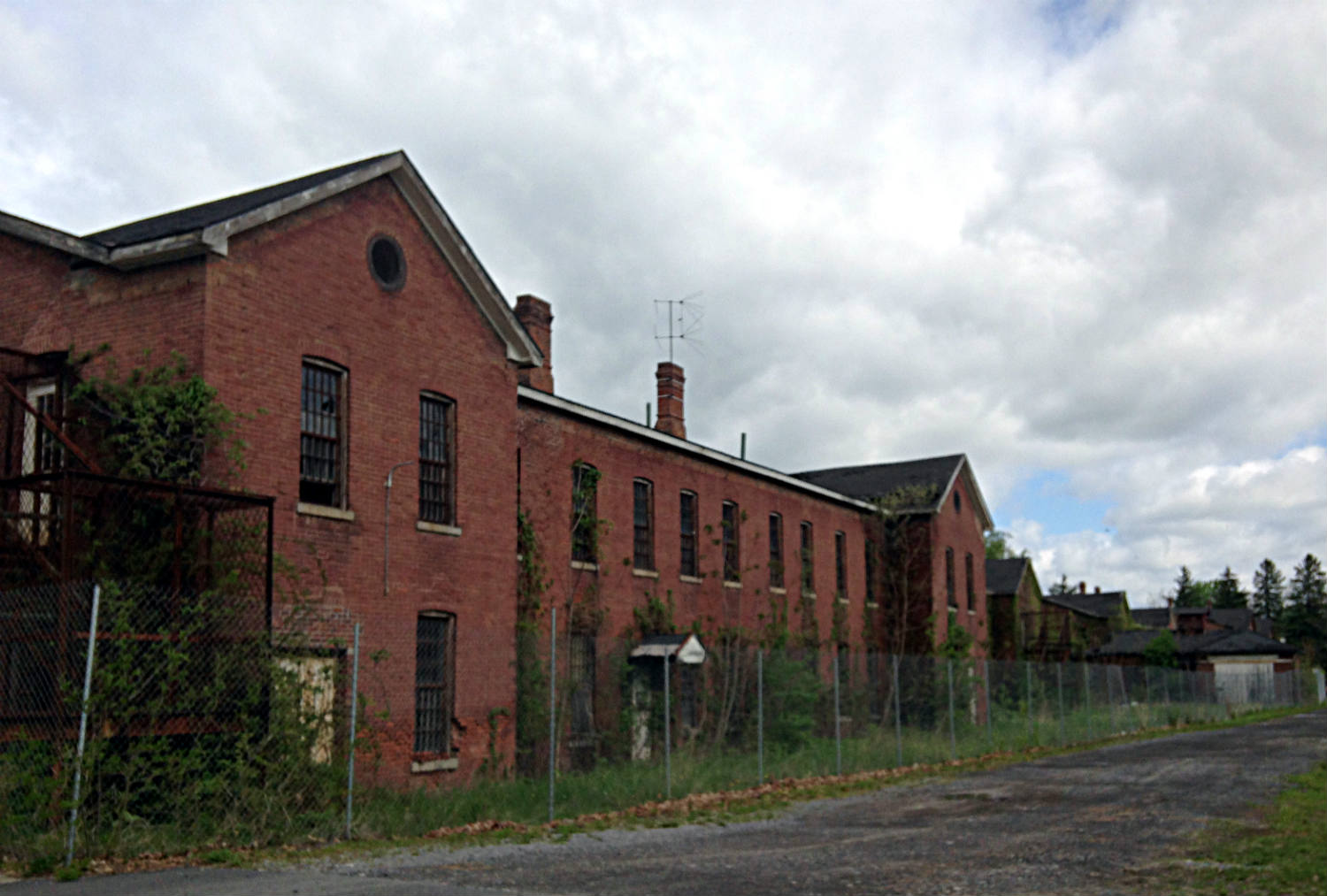 Abandoned Buildings in Ovid, NY at the Willard Asylum