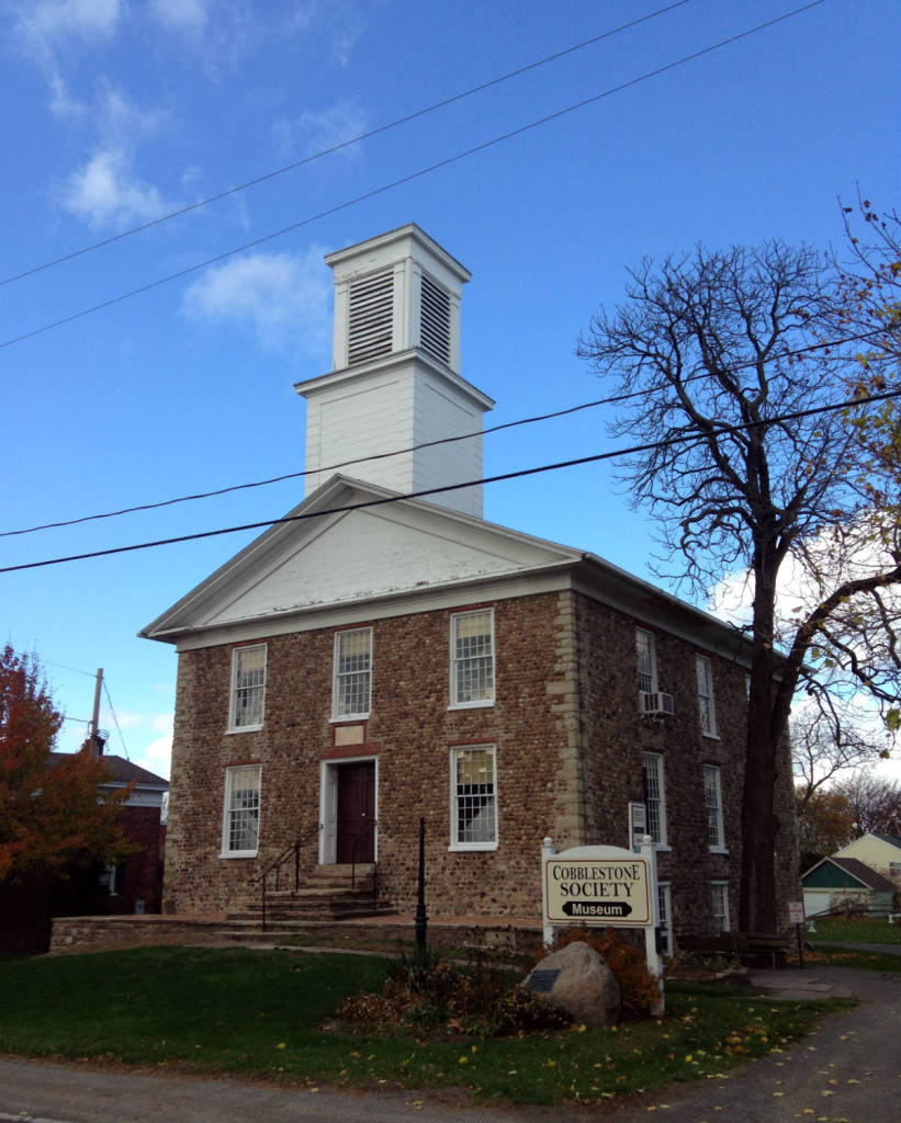 Childs Universalist Church at Cobblestone Society and Museum