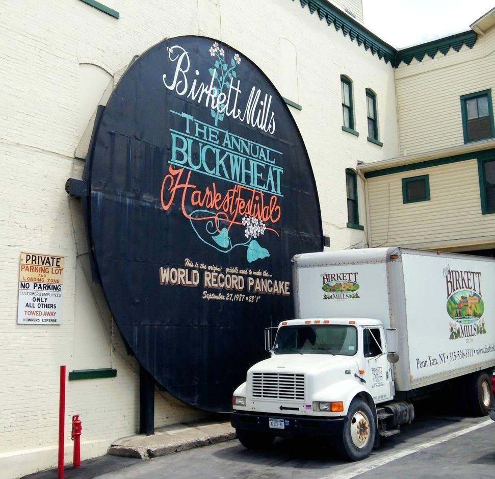 Birkett Mills, NY Finger Lakes Penn Yan Largest Buckwheat