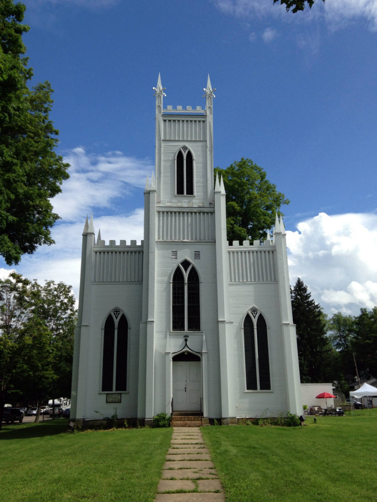 St. John's Episcopal Church in Ellicottville, NY