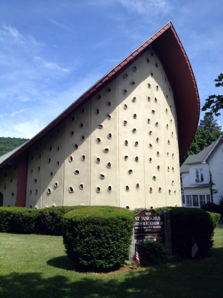 St. Januarius Church in Naples, NY