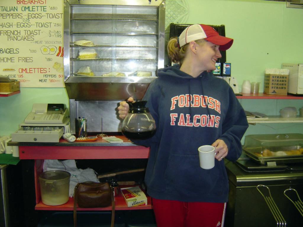 Sarah Lidbom at the Pok-A-Dot in Batavia, NY