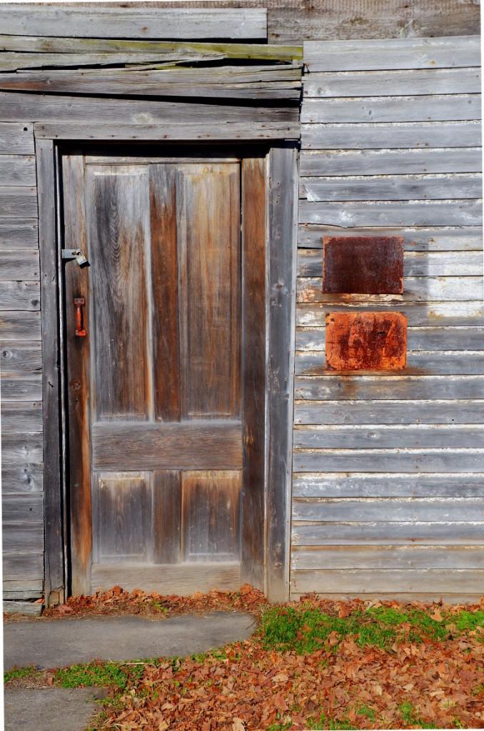 Clifton Springs Sanitarium Barn Door