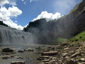 Lower Falls Gorge in Rochester, NY