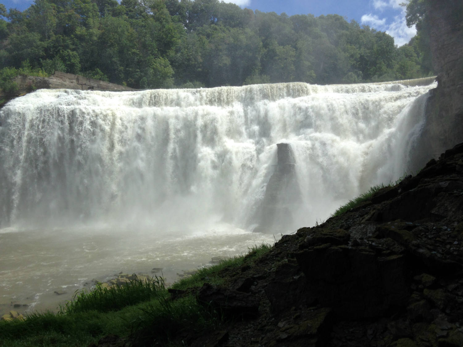 Lower Falls of the Genesee River in Rochester