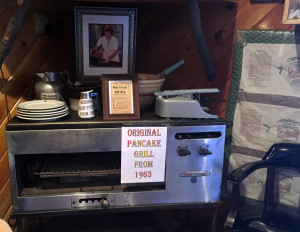 Original Cartwright's Maple Tree Inn Pancake Grill from 1963