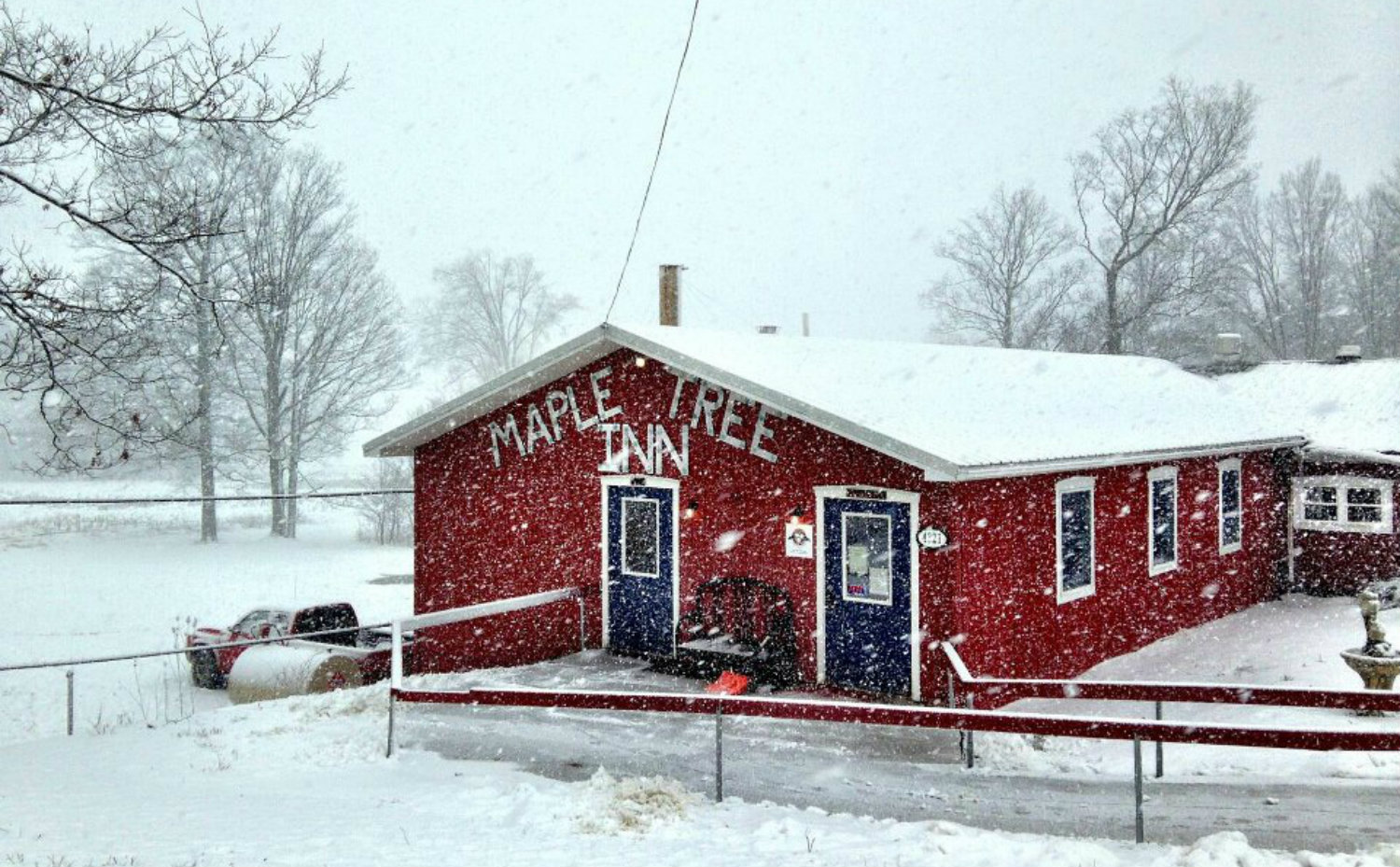 Cartwright's Maple Tree Inn in Angelica, NY - Featured Image