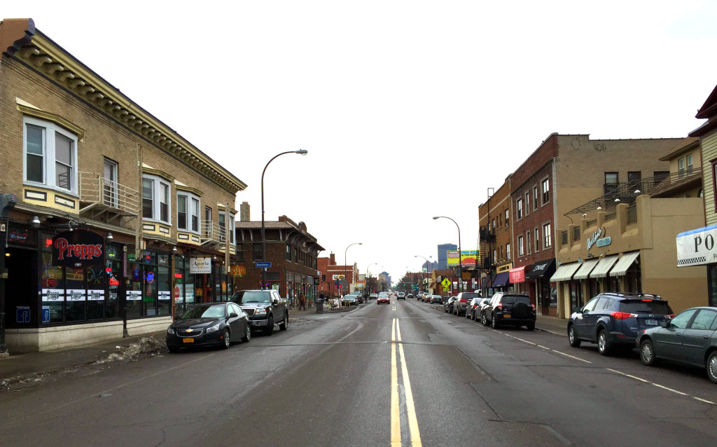 Upper Monroe Avenue in Rochester, NY