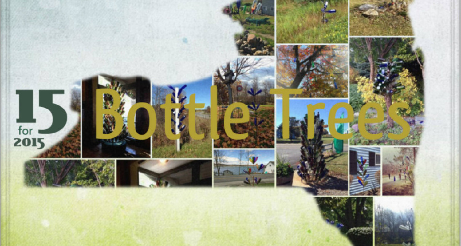 15 Bottle Trees in New York - Featured Image