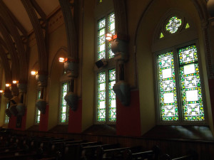Stained Glass Windows by Louis Comfort Tiffany in Bath, NY