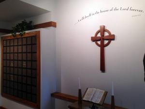 Columbarium in Bath, New York