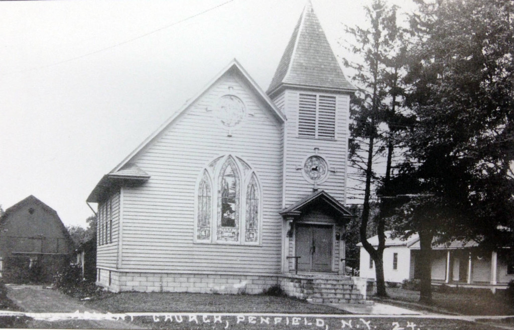 Historical Photo of the Advent Christian Church in Penfield, NY