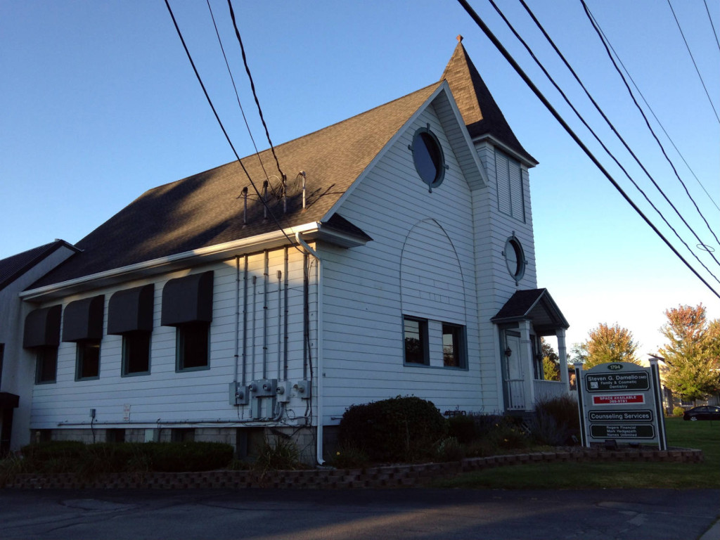 Present day photo of the Advent Christian Church in Penfield, NY