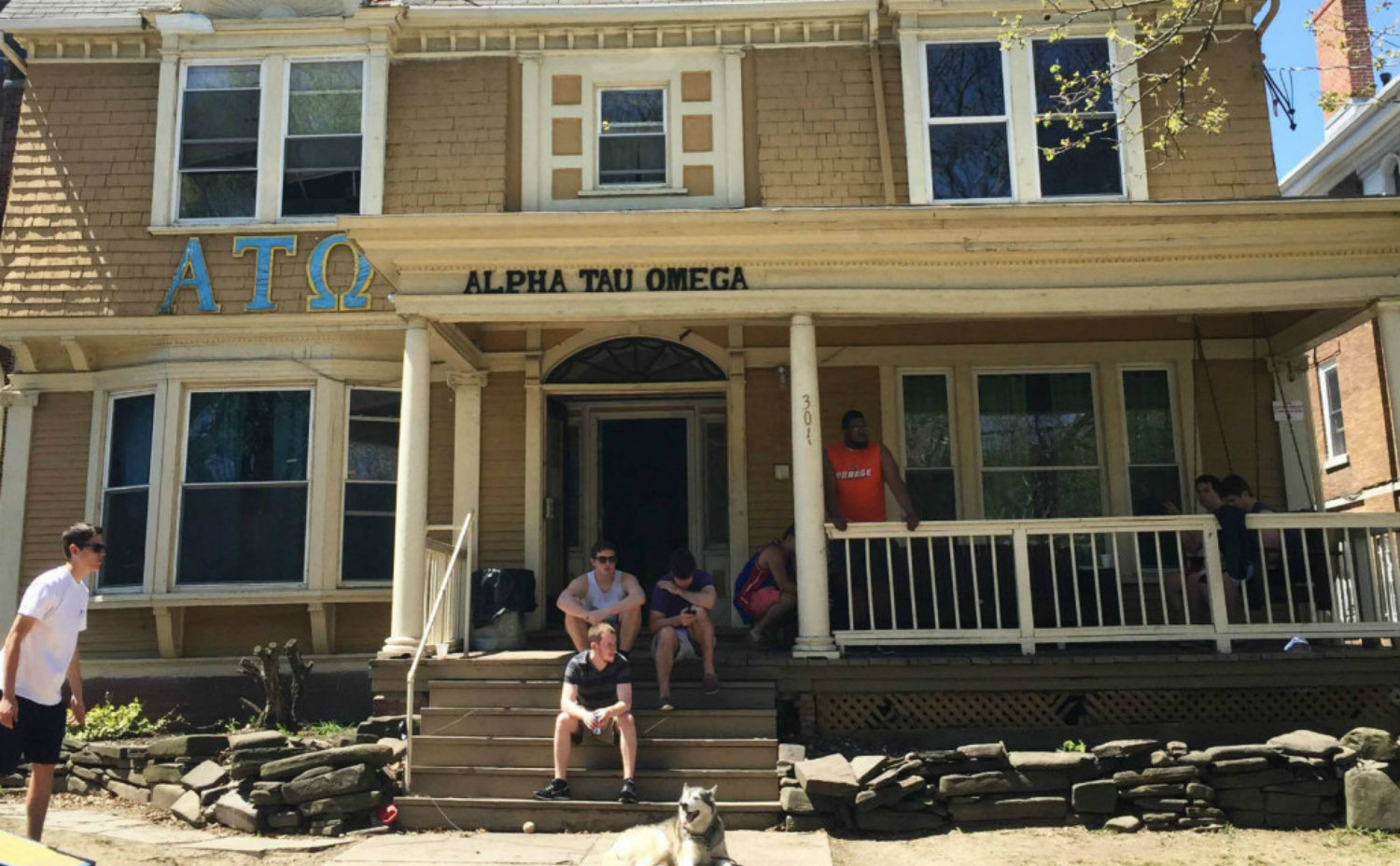 George Bond and the Epsilon Phi House in Syracuse, NY - Featured Image