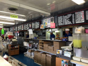 Cooking at Rudy's Drive In Oswego