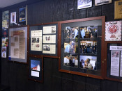 Duff's Famous Wings Wall of Fame with President Obama