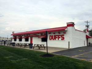 The Original Duff's Famous Wings on Sheridan Drive in Amherst
