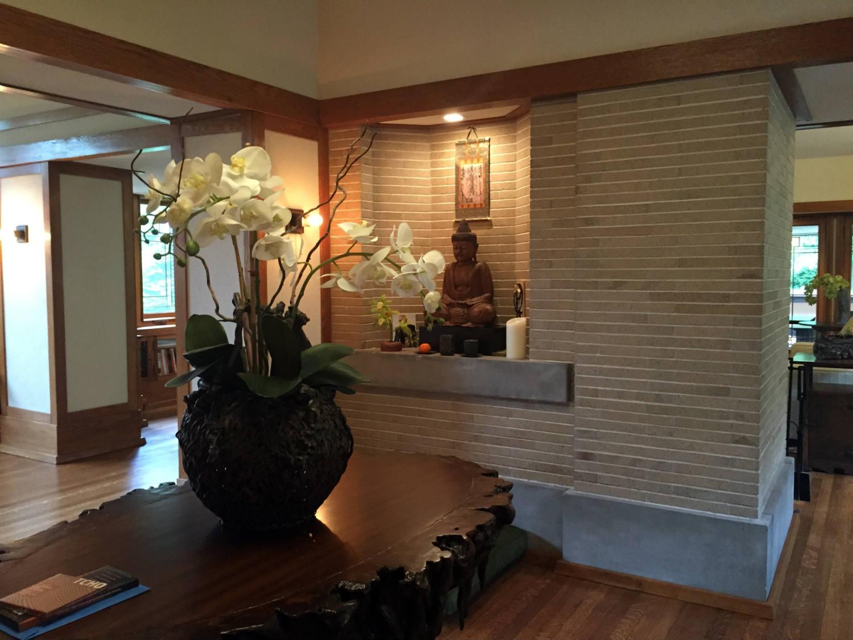 Foyer with Buddha