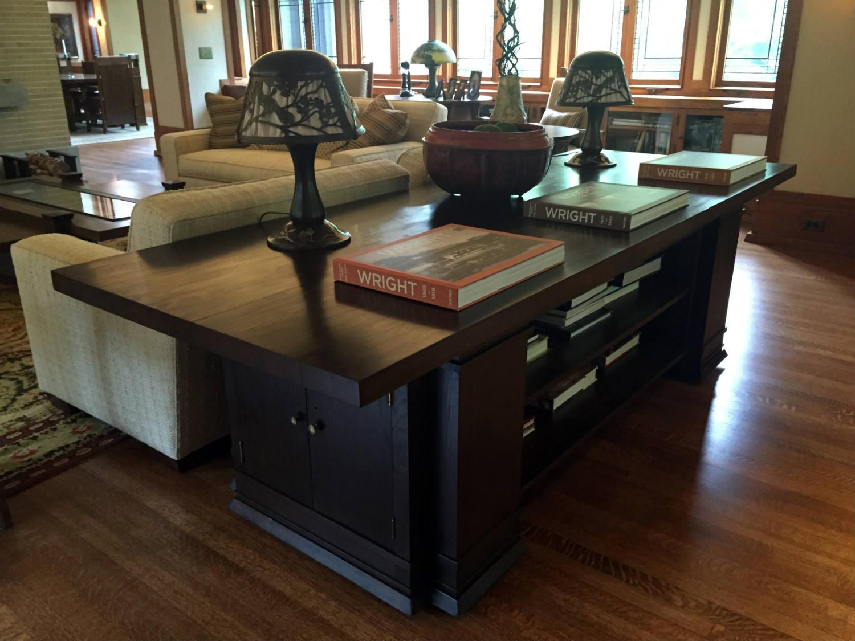 Original Frank Lloyd Wright Table
