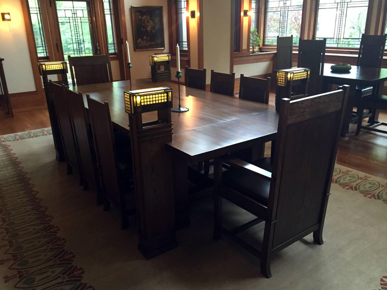 Frank Lloyd Wright Dining Tables