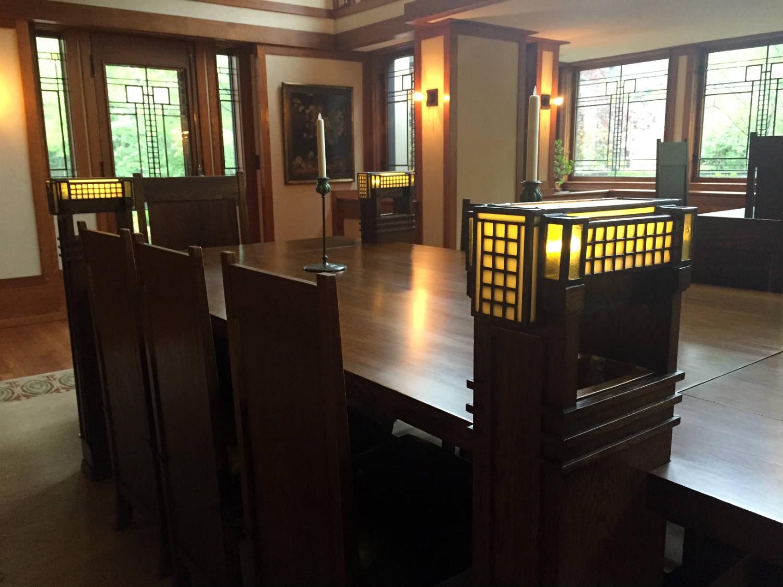 Frank Lloyd Wright Dining Table Lights