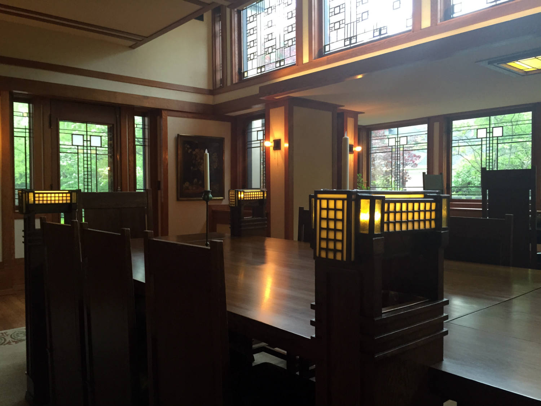Frank Lloyd Wright Table Lights