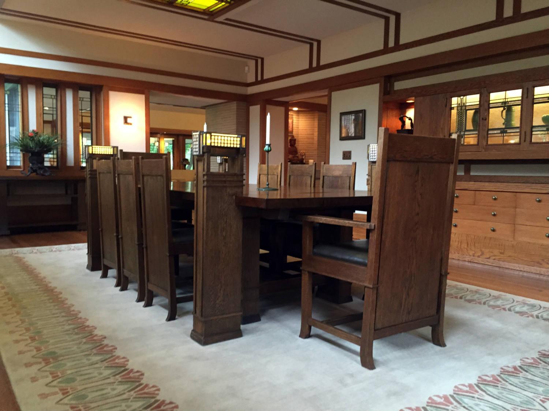 Dining Table in the Boynton House