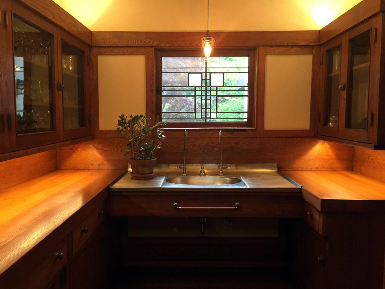 Servant's Kitchen in the Boynton House