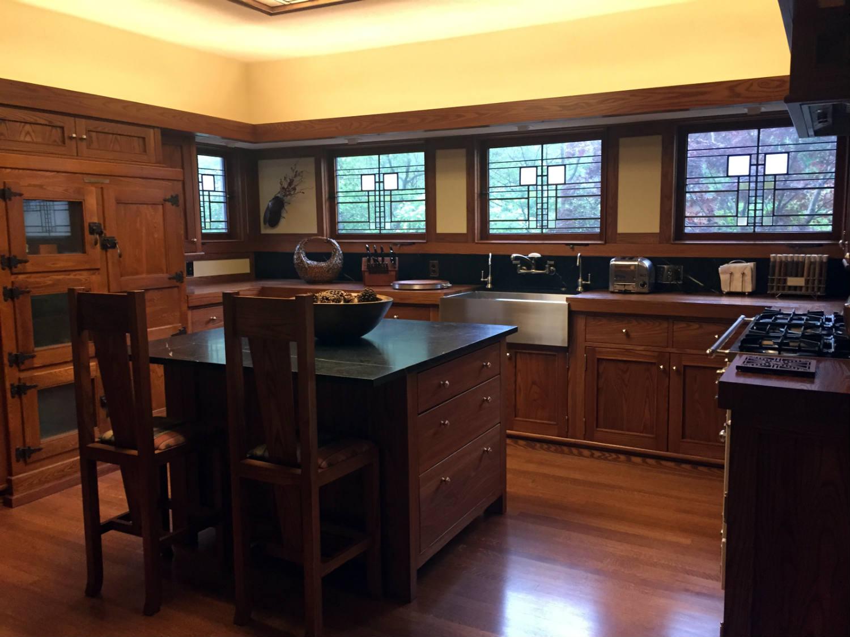 Kitchen in the Boynton House