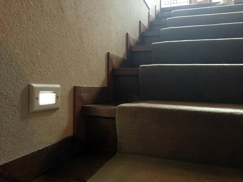 Staircase in the Boynton House in Rochester