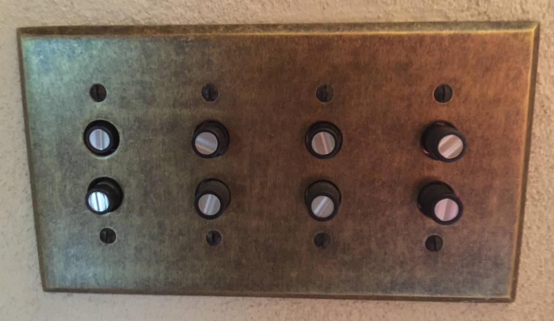 Original Light Switch Panel