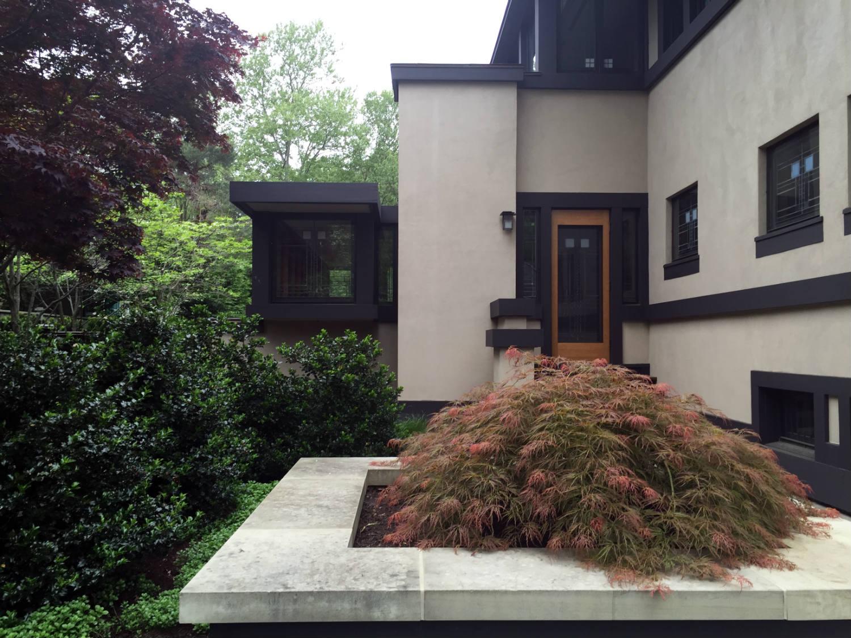Rear Entrance at Edward Boynton House in Rochester, NY