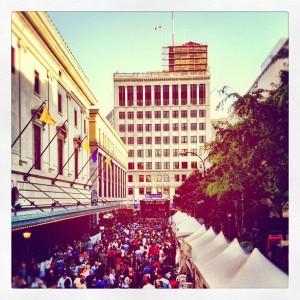 Xerox Rochester International Jazz Festival Gibbs Street