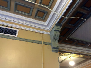 Interior Ceiling at the Utica Asylum in NY