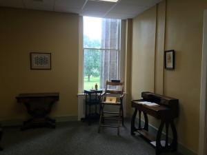 Nurses Station at the Asylum at Utica in New York