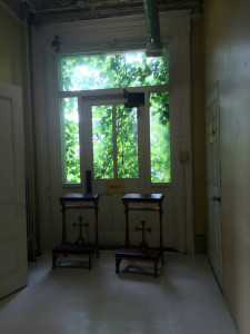 Kneelers at the Utica State Hospital in New York
